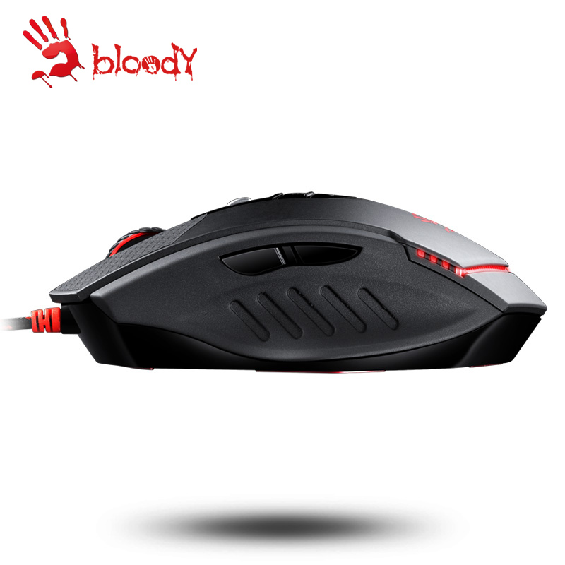 все цены на  Original A4tech  bloody TL70 wired professional gaming mouse LOL cf macro programming DPI 100-8200 AVAGO Computer Mouse  онлайн