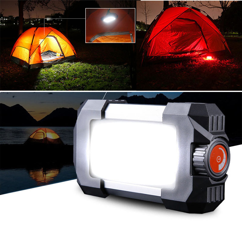 2017 new high brightness USB Rechargeable Portable LED camping lantern tent light Power Source Charger for Mobile Phone Light