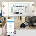 Sonoff Smart Home RF 433Mhz Wall Wireless Remote Control Switch Home automation / Intelligent WiFi Center For Iphone Smartphone