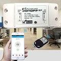 Sonoff smart home pared interruptor de control remoto inalámbrico rf 433 mhz domótica/centro de wifi inteligente para iphone smartphone