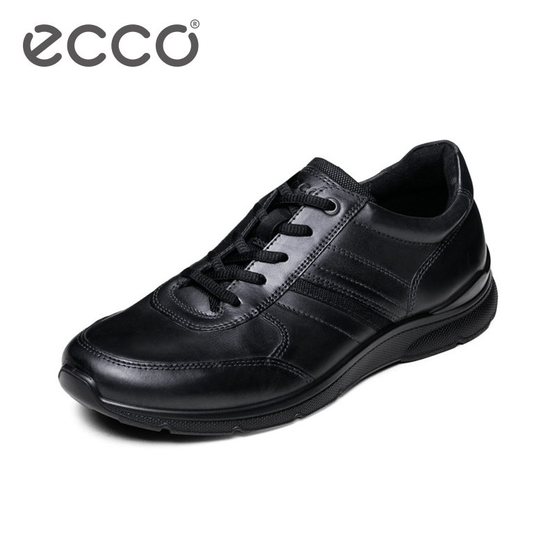 ECCO Fashion Casual Men Sneakers Genuine Cow Leather Shoes Mens Business Breathable Waterproof Casual Sports Shoes eioupi top quality new design genuine real leather mens fashion business casual shoe breathable men shoes lh1288