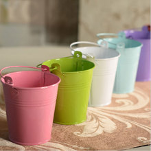 Free Shipping  Flower Pots & Planters Plant Mini Home Gardening Flowers Small Drum Size o