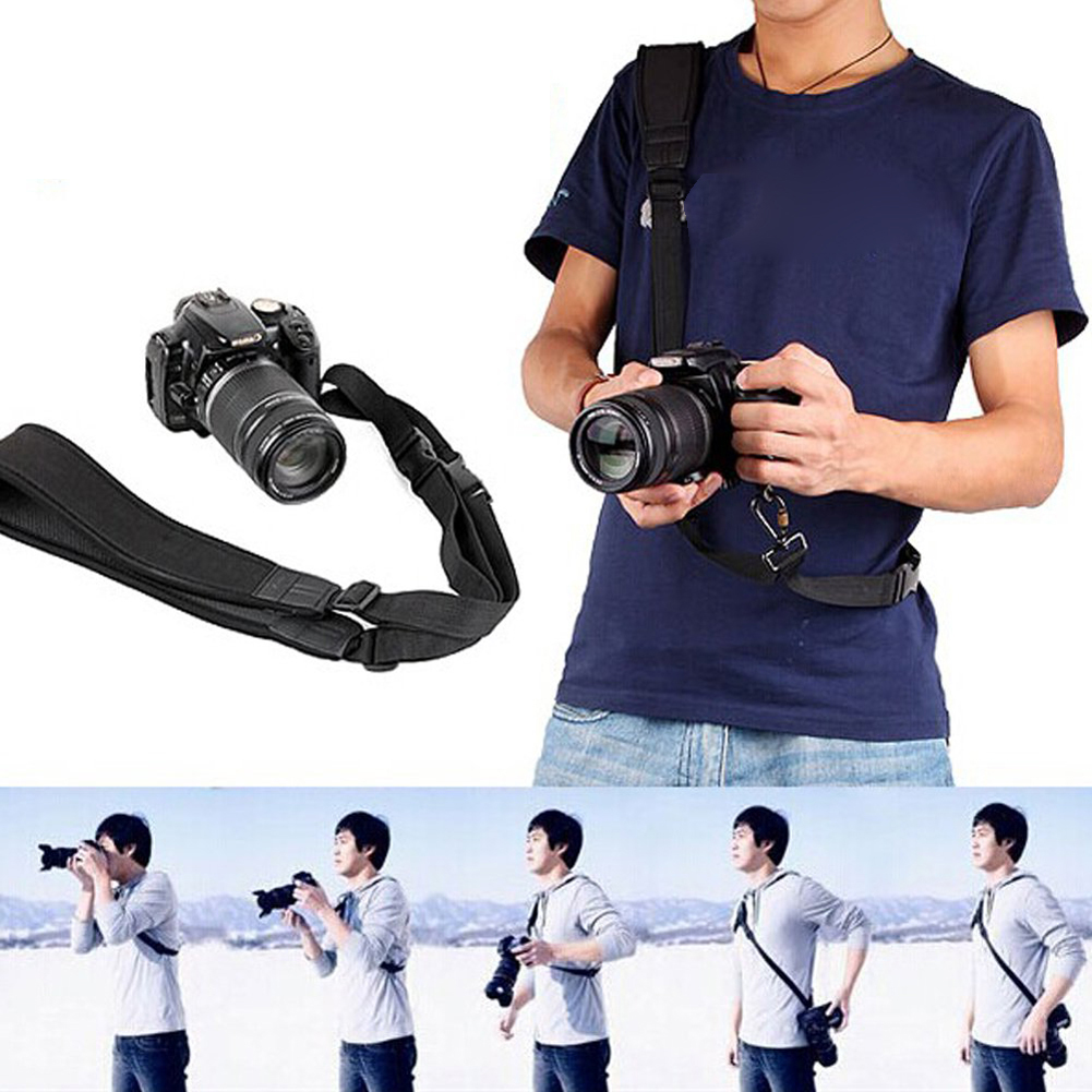 For Digital SLR Camera Quick Rapid Shoulder Sling Belt Neck Strap Camera Strap For Canon Nikon Camera DSLR SLR