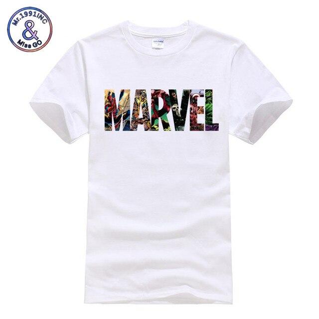 82a47434d84 ... Marvel Superhero t shirt The Avengers Men Women Casual tshirt