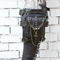 Steampunk Rivet Hip and Holster Waist Bag Thigh Wallet Crossbody Bag - for bulk orders