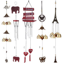 Hxroolrp Amazing Chime Grace Collection Great Sound Bronze Color Bells Wind Chimes Scandinavian Decor Decoration Home K25(China)