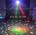 Удивительный новый Дизайн этап Освещение led хрустальный магический шар DJ Flash панели лазерный свет диско вращающийся Фонари свет с лазерной
