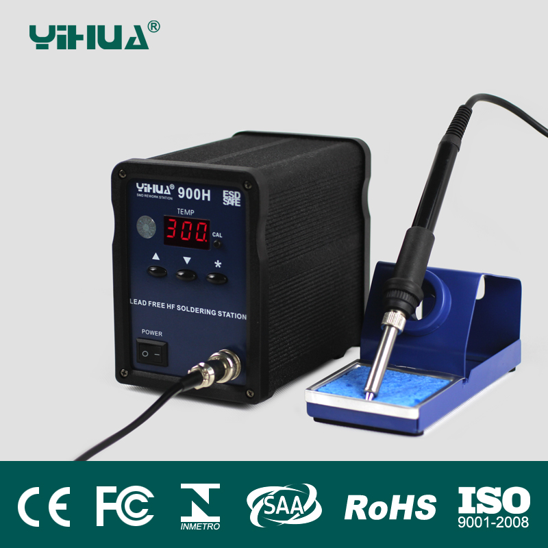 YIHUA 900H 100W High Frequency eddy current heating Microcomputer control digital temperature soldering station