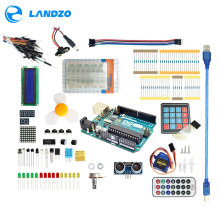 Arduino Starter Kit for arduino Uno R3 - 9G Server /arduino sensor /1602 LCD / jumper Wire/ UNO R3/Resistor(China)