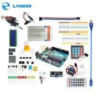 Arduino Starter Kit For Arduino Uno R3 9G Server Arduino Sensor 1602 LCD Jumper Wire UNO