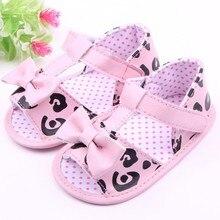 Leopard m сандалии искусственная летом малыша обуви кровать цветок мягкий детская