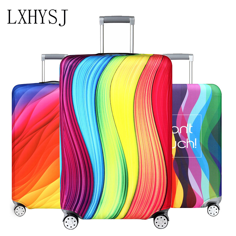 Elasticity Thicken Luggage Protective Cover  Suitcase Dust Cover For 18-32 Inch Trolley Case Dust Cover Travel Accessories