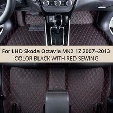 For LHD Skoda Octavia MK2 1Z 2013 2012 2011 2010 2009 font b Car b font