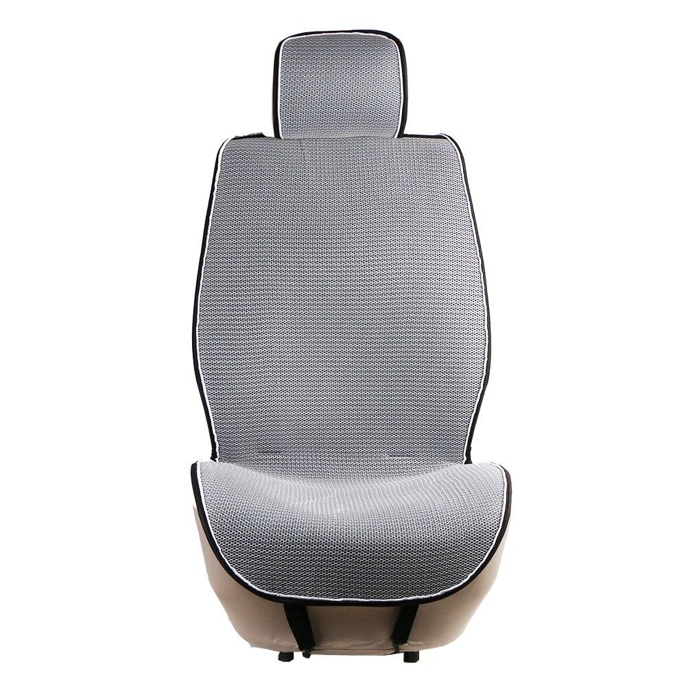 1 pz Mesh Traspirante car seat covers pad adatto per la maggior parte delle automobili/estate fresca cuscino sedili di Lusso dimensione universale auto cuscino