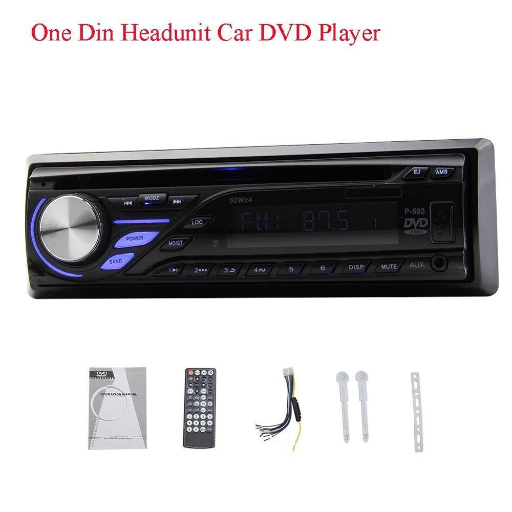 1 din Car dvd player 1Din Car radio support FM/MP3/Audio/Charger/USB/SD/AUX/ system one din 1din car Headunit Detachable Panel car usb sd aux adapter digital music changer mp3 converter for skoda octavia 2007 2011 fits select oem radios