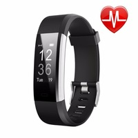 Color Screen Smart Wristband Sports Bracelet Heart Rate Blood Pressure Oxygen Fitness Tracker Smart Band for iPhone Samsung HTC