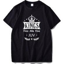 Juventus T shirt Until End Graphic Print Short Sleeve Pure Cotton Fashion  Classic T-Shirt a8d0fd1fc4c7