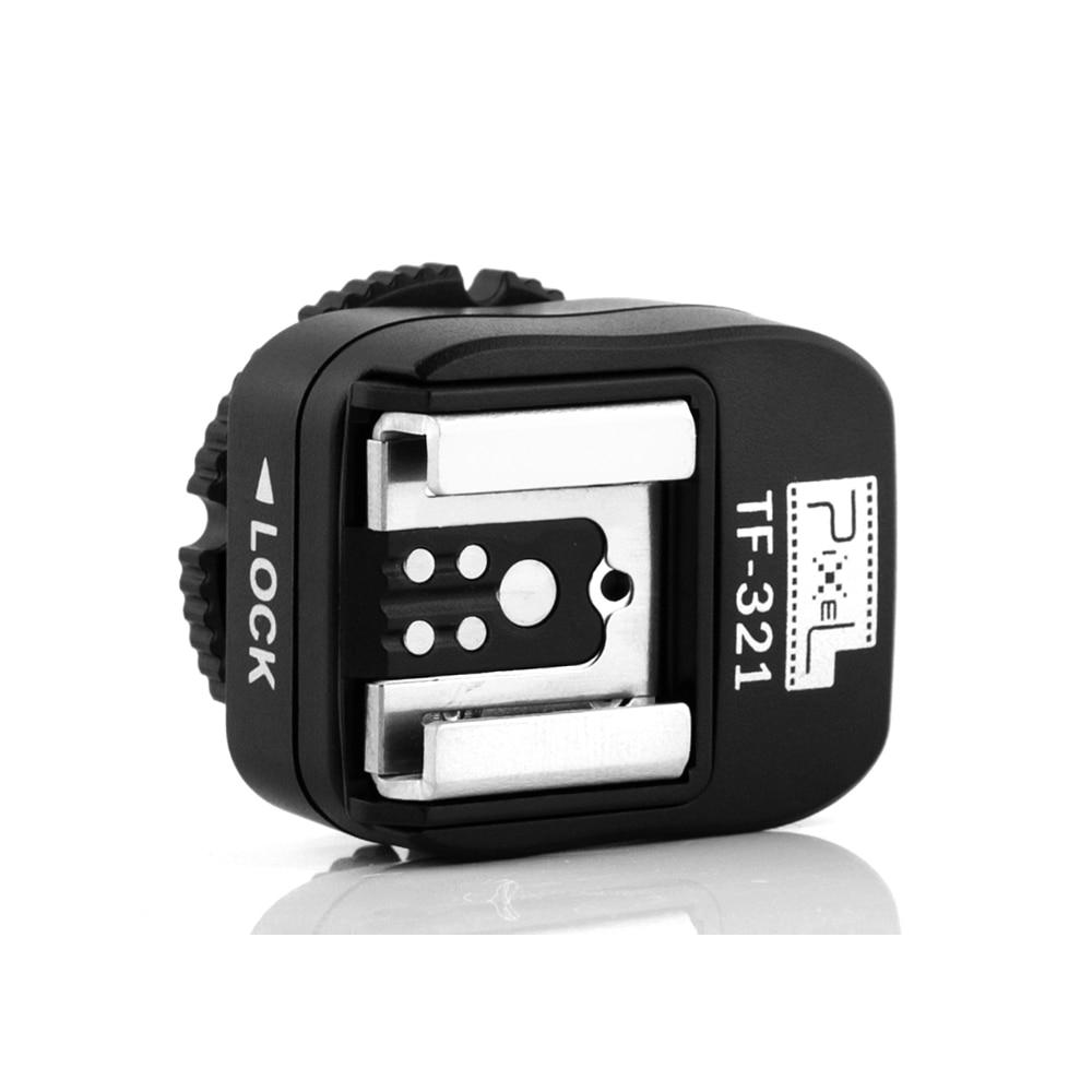 Penukar penyesuai kasut panas Pixel TF-321 TTL untuk kamera Canon - Kamera dan foto - Foto 1