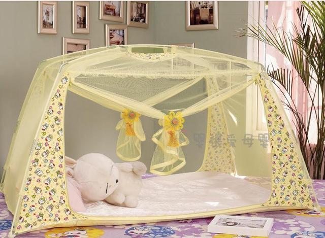 Free shipping! beautiful princess Baby mongolia mosquito net print fresh baby mosquito tent hbc125 & Free shipping! beautiful princess Baby mongolia mosquito net print ...