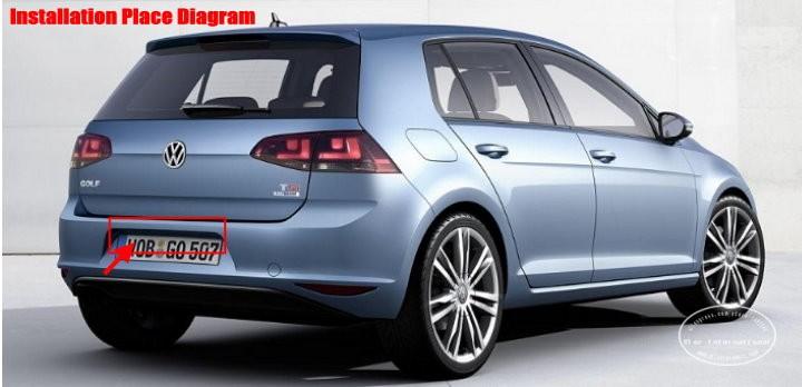 Volkswagen-Golf-Mk7-back-license-plate-lamp