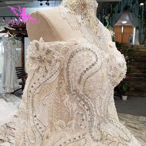 Image 3 - AIJINGYU düğün elbisesi rusya federasyonu nişan abiye seksi kadınlar için en iyi tasarımcılar kraliçe kıyafeti artı boyutu gelin elbiseleri 2021
