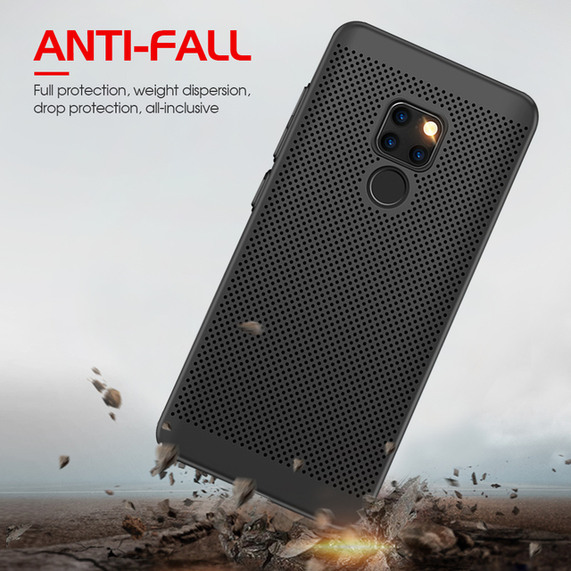 New Heat Dissipation Case For Huawei P30 Pro P20 Mate 20 Lite Y9 2019 Nova 4e 3e 3i P Smart Plus Cover For Dropshipping Coque 1