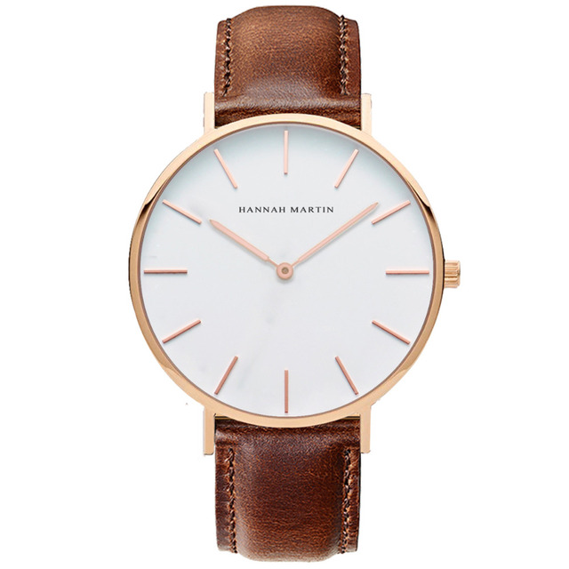 ... new high quality 08f2e 4656c 2019 Ladies leather watches Women gold  watch Famous Brand Cute Female ... b64ff0453e