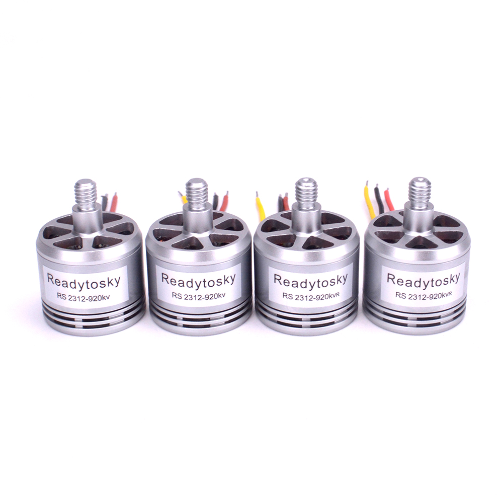 Latest Collection Of 4pcs/lot 2312 920kv Brushless Motor Cw Ccw 2-4s Lipo For Dji Phantom 3 Drone Professional Advanced 3a 3p 3s Se F450 S500 S550