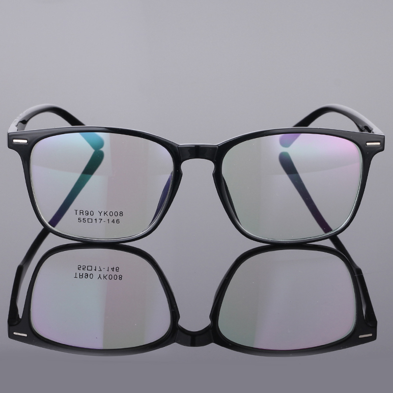 Image 4 - TR90 Glasses Frame Clear Fashion Myopia Glasses Frame Men Optical Eyeglasses Frame Women Prescription Glasses 08-in Men's Eyewear Frames from Apparel Accessories on AliExpress