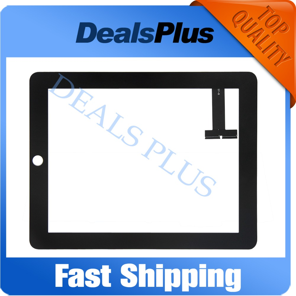 Replacement New Touch Screen Digitizer Glass For iPad 1 1st Gen A1337 A1219 Black цена