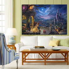 Thomas Kinkade print Canvas painting Giclee art Poster and print of home decor wall art pictures for living room caudros decor