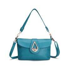 KEYTREND Luxury Genuine Leather Shoulder Bags Handbags Elegant Women Fashion Crossbody Twisted-Locked & Cover Bags Design KSB145
