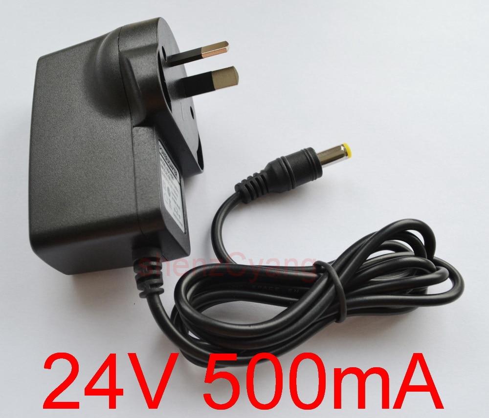 AC Converter Adapter DC 8V 500mA Power Supply Charger 4W EU plug DC 5.5mm 0.5A