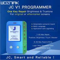 Jc v1 para iphone 7/7 p/8/8 p/x/xr/xs/xs max fotossensível cor original toque choque baseband lógica chip todo-poderoso programador