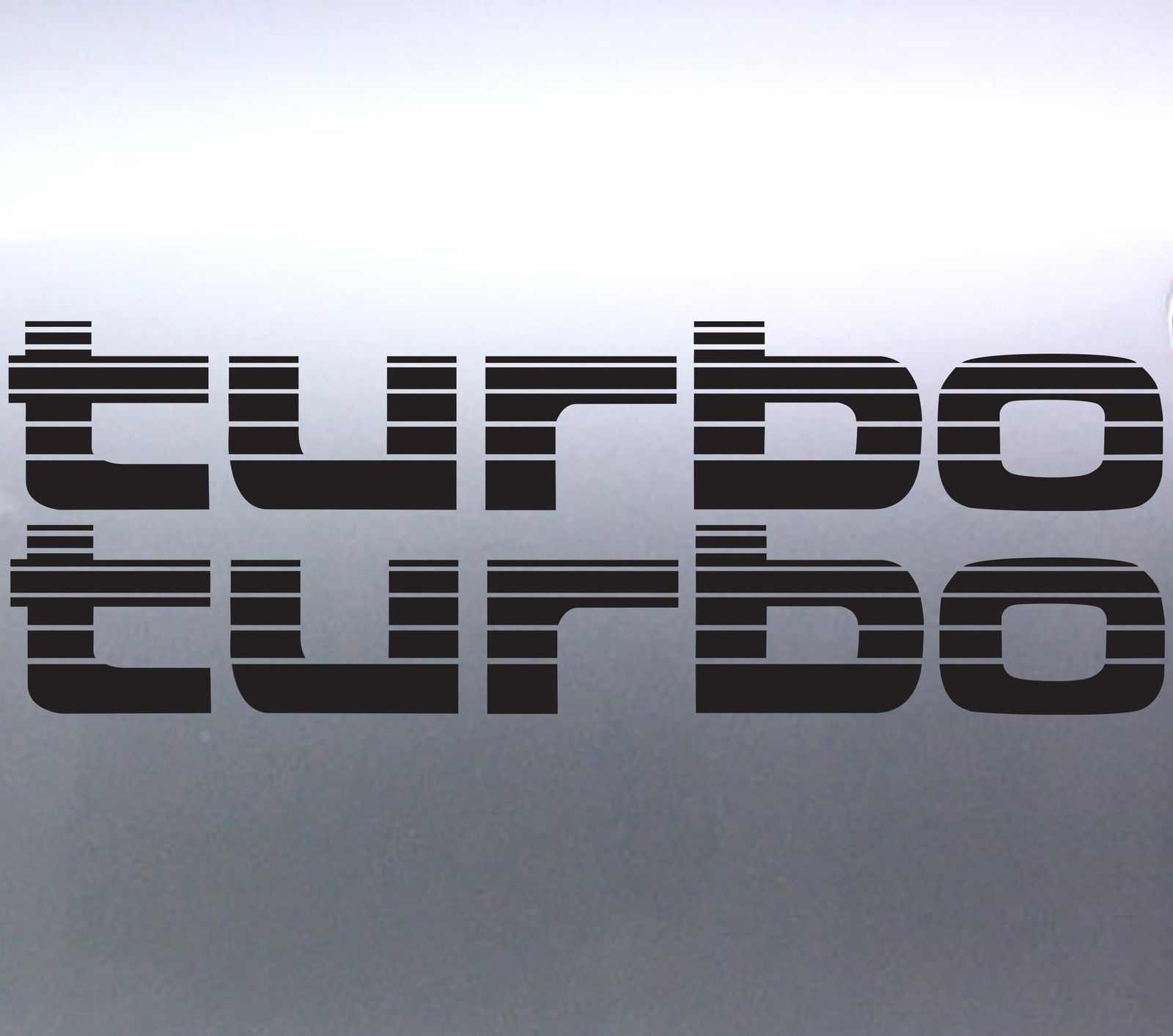 2Pcs TURBOสติกเกอร์Landcruiser 4WD 4X4สติกเกอร์Australian Made 80 Series 27x4.5cm