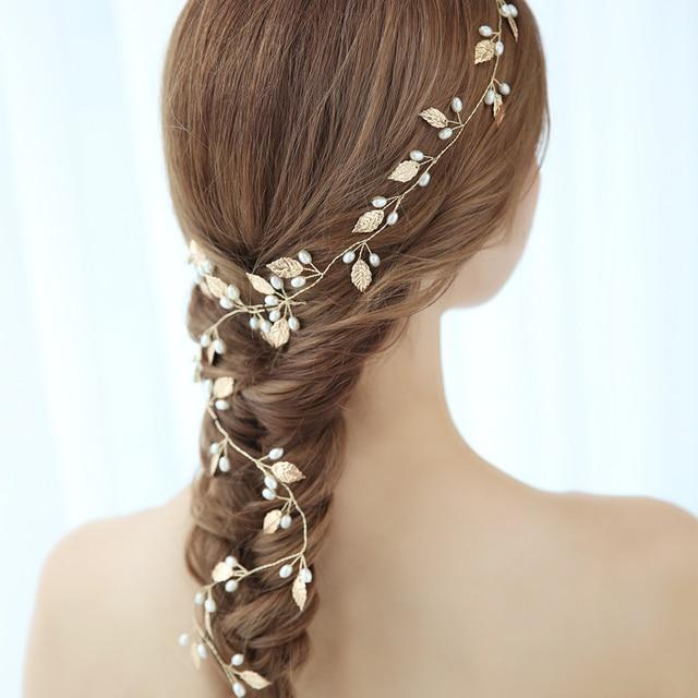Accessoires cheveux longs mariage