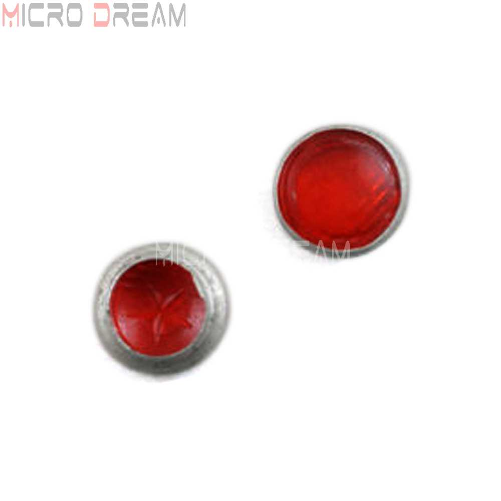 1 пара Урал сидекар мотоцикл Замена фары объектив красный для BMW KS750 K750 M1M M1S M72 R12 R75 R51 Replika