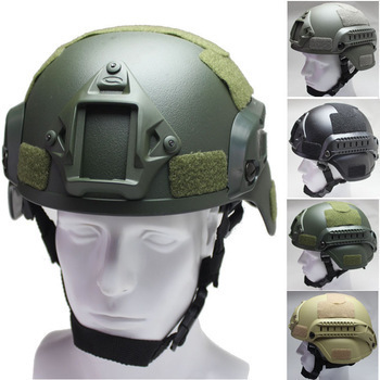 Military Tactical Combat Mich 2000 Helmet w/ NVG Mount & Side Rail For Airsoft Paintball Field game Airsoft tactical helmet military tactical combat mich 2002 helmet nvg mount side rail for outdoor airsoft tactical helmet