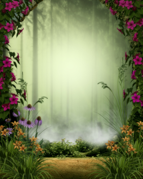 Online Buy Wholesale photography garden backdrops from China