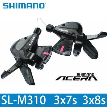 SHIMANO SL M310 переключения SL-M310 3x8 3x7 21 24 Скорость Шифтер триггер комплект Rapidfire плюс Shifter кабель велосипед Hot Run