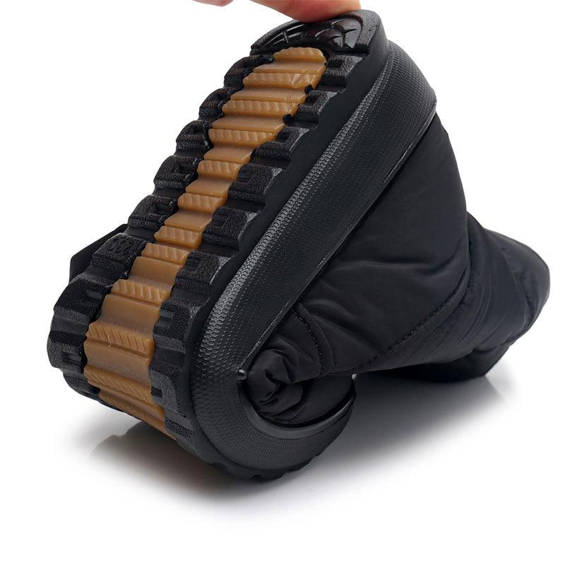 Antideslizante marrón De Zapatos Negro Cremallera Size41 Botas Impermeable La Invierno Mujer Interior Nieve Mujeres vino Felpa Para Con Wsh3146 Tinto OTwqfn