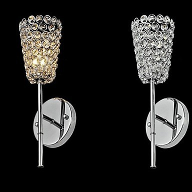 3W Cup Style Crystal lModern LED Wall Lamp Lights With 1 Light For Bedroom Home Lighting,Lustre Wall Sconce Free Shipping conrad j tales of unrest истории беспорядка идиоты лагуна аванпост прогресса возвращение кариан кн н