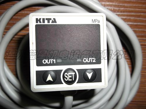 NEW KITA High Precision Digital Pressure Switch KP25C-02-F1 -0.1~0.1MPa DC24V new and original kp43v 010 f1 kita pressure switch negative pressure sensor
