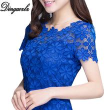 M XXXL New 2014 Fashion Ladies Blouses Shirts Plus size Clothing Summer Women s Short sleeve