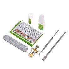6Pcs Toenail Ingrown Correction Tools Set Toenail Treatment Fixer Nail Glue Toe Nail Straightening Patch Pusher Lifter Recover