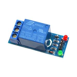 Glyduino 1 Channel 5V Relay Module High Level Trigger Interface Board Shield For PIC AVR DSP ARM MCU Arduino