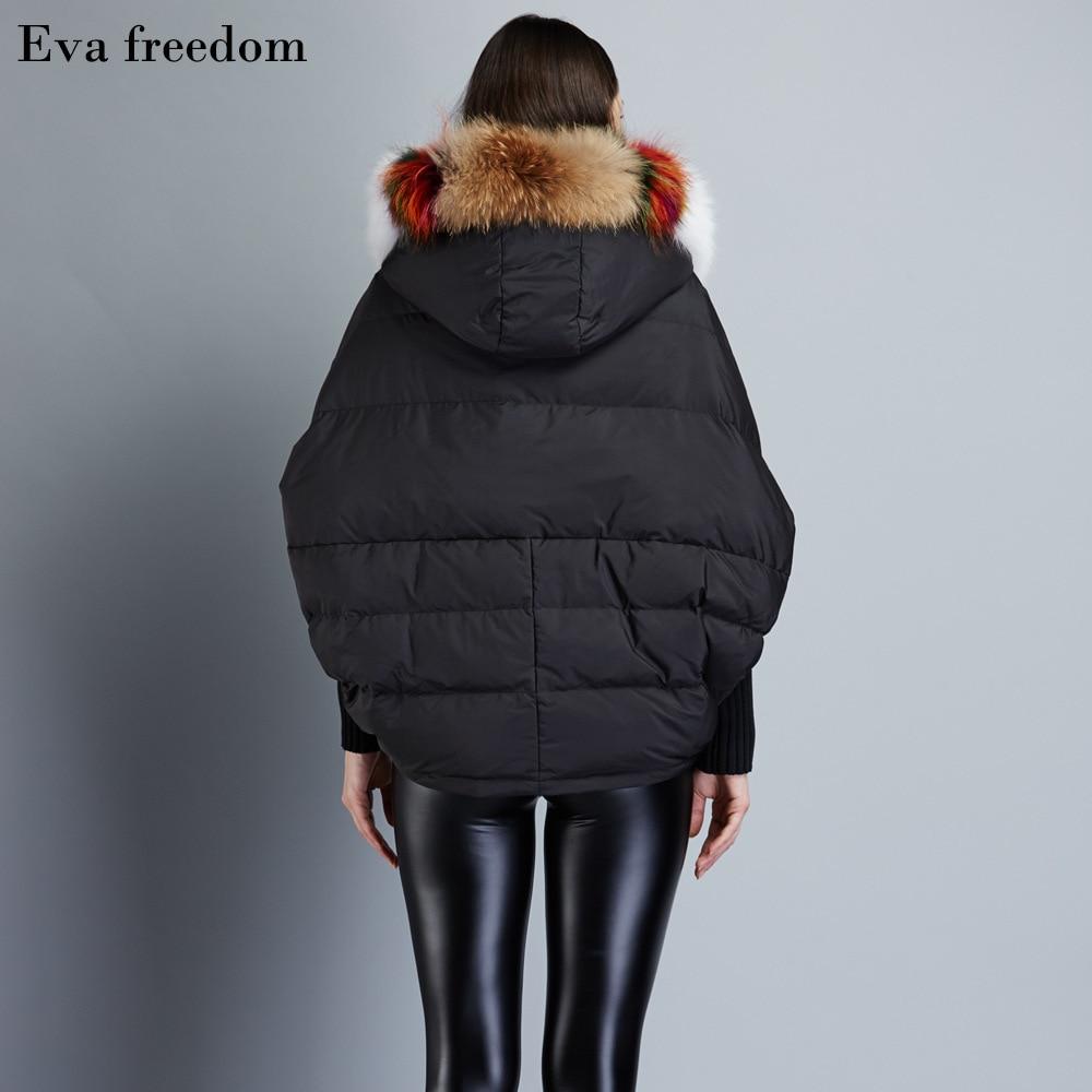 2017 Winter womens fashion down jackets short loose down coat large color collar down jacket bat sleeved down coat EF6688-18