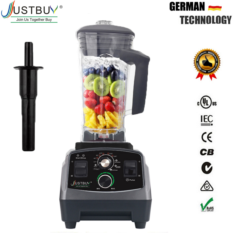 EU / US / AU / UK Plug 3HP 2200W G5200 Heavy Duty Εμπορική Βαφή Μίξερ Μίξερ Juicer Food Processor Ice Smoothie Bar Fruit