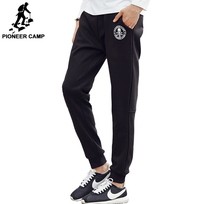 Pioneer Camp winter men pants thicken fleece trousers brand clothing 2017 new fashion casual sweatpant male quality pants 699028