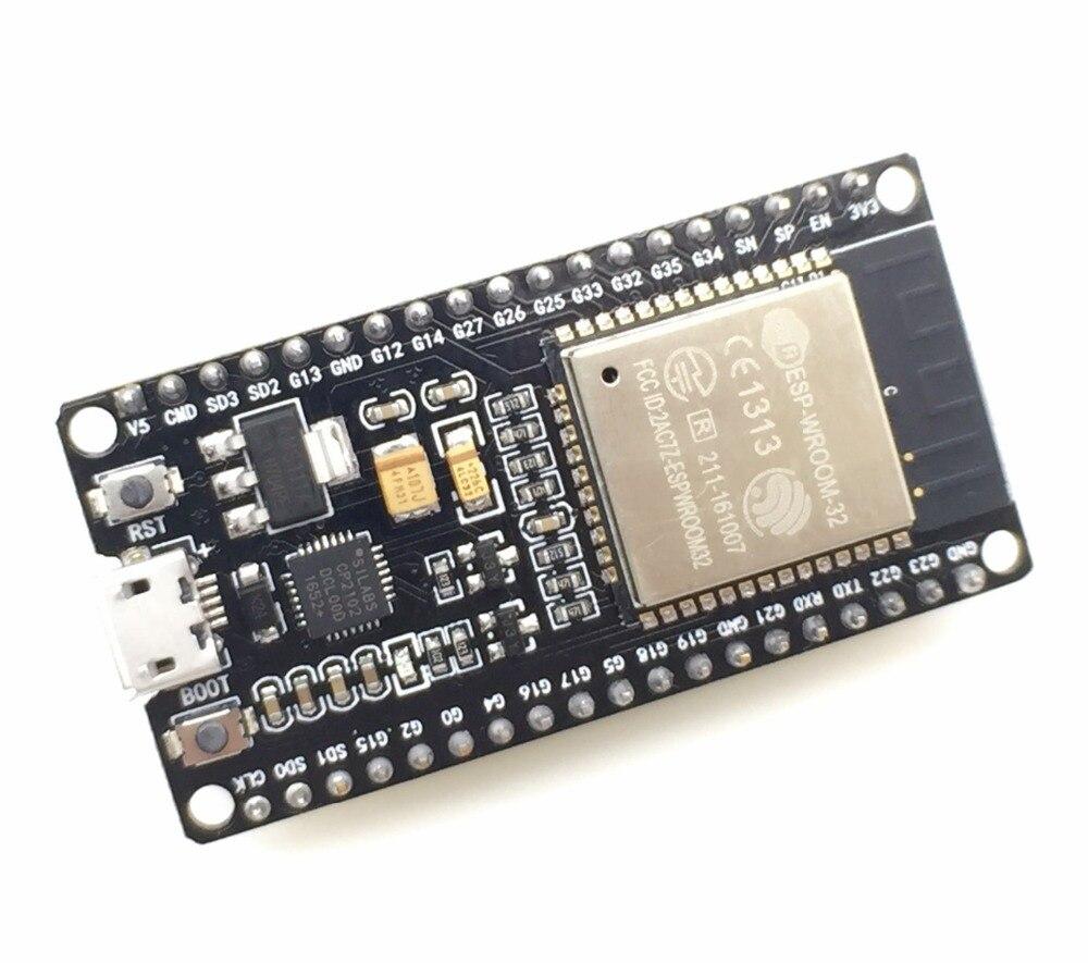 ESP32 Développement Conseil WiFi + Bluetooth Ultra-Faible Consommation D'énergie Dual Core ESP-32 ESP-32S ESP 32 Similaire ESP8266 pour arduino